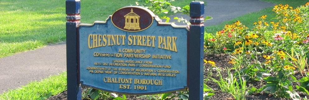 chestnut st park narrow